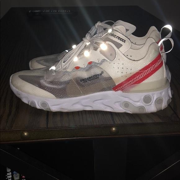 2aeba3ac0503 Nike react element 87 men sneakers size 9.5. M 5baaa6db04e33d08356b83c2